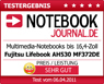 "Notebookjournal.de, ""Very good value for money"", Fujitsu LIFEBOOK AH530, Germany - April 6, 2011"