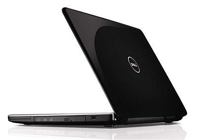 Dell Inspiron 17 laptop with facial recognition software